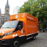 Wertstoffmobil der Sadt Aachen